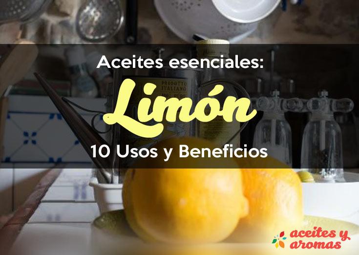 Aceite esencial de limon usos