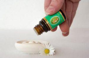 Aplicar aceites esenciales