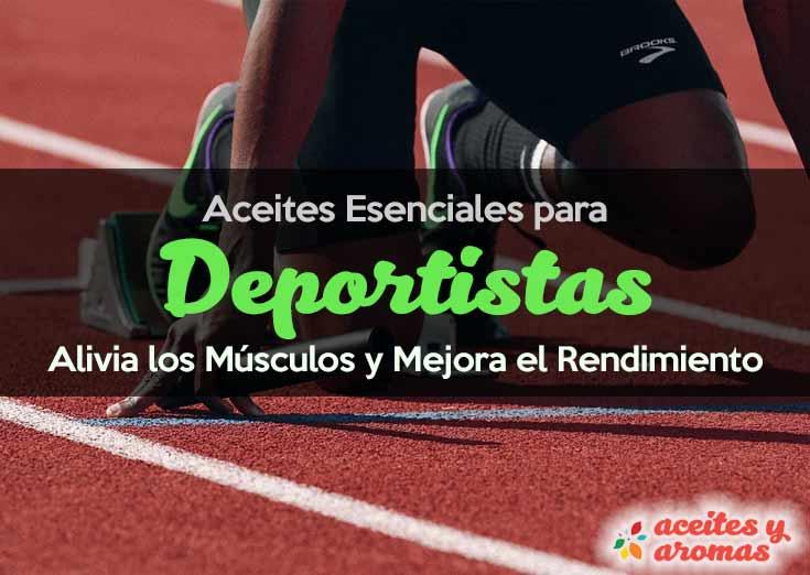 Aceites esenciales para deportes