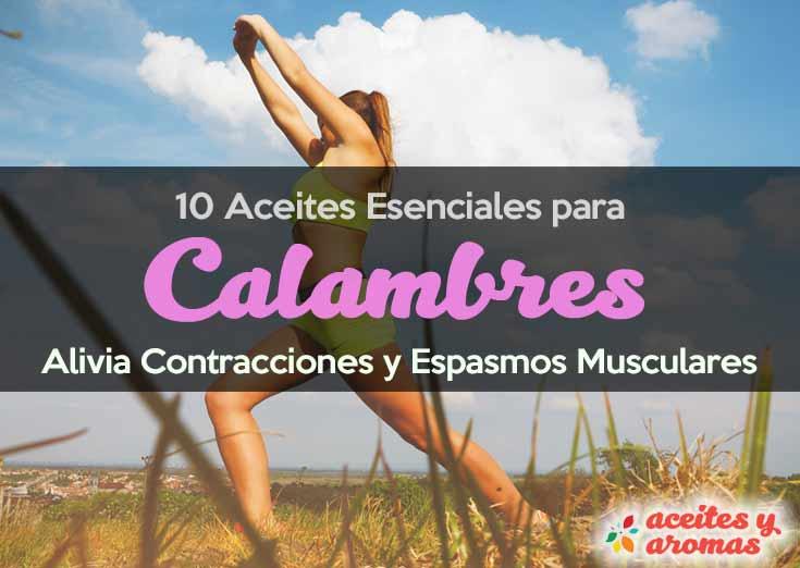 Aceites para Calambres y Espasmos Musculares