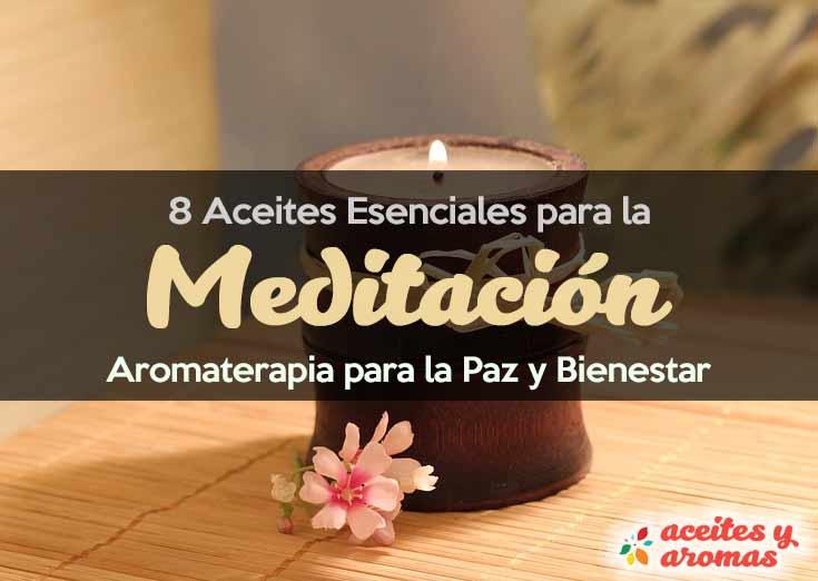 Aceites Esenciales para meditación